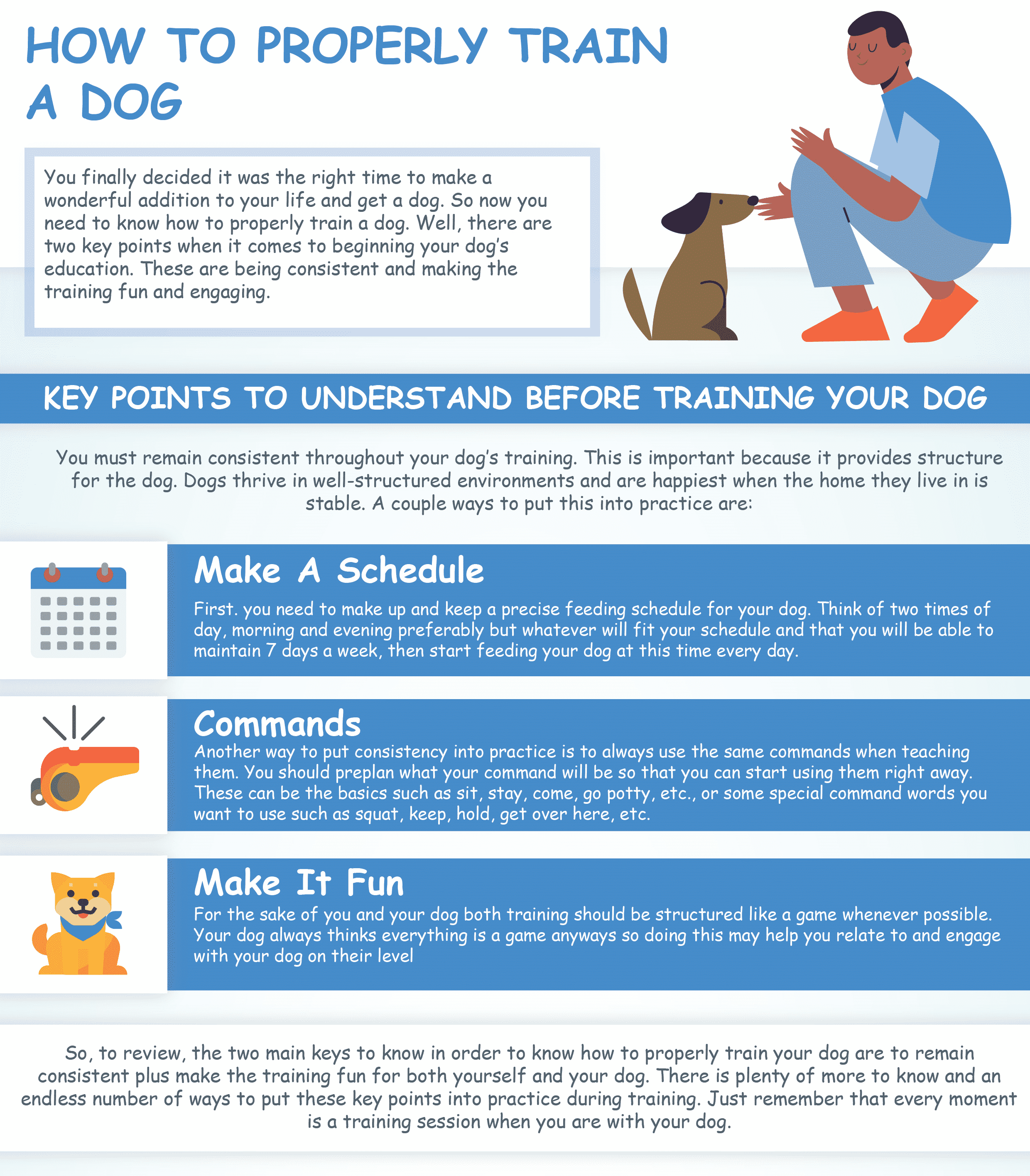 ​Dog Training 101:How to Properly Train Your Dog