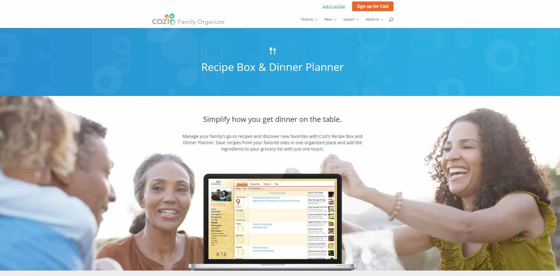 Cozi Recipe Box & Dinner Planner