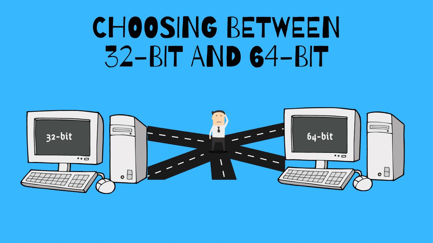 Choosing between 32-bit and 64-bit