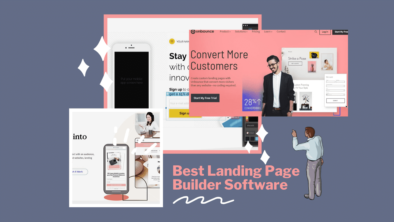 Landing Page Builders to Make One Page Websites