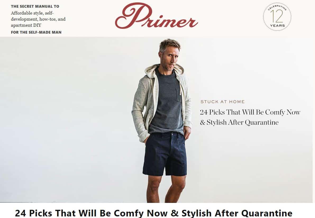 Men's Fashion Magazines Primer Magazine