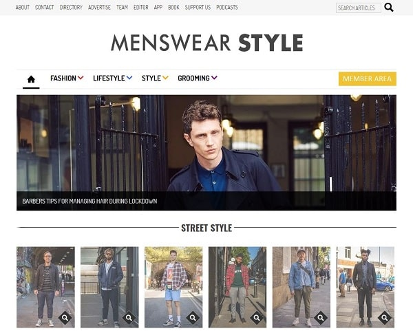 Menswear Style Digital Magazine